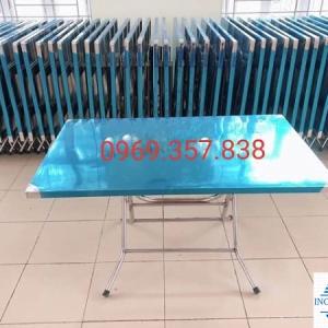 Bàn inox giá rẻ kích thước 1200×700 mm