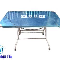 BÀN XẾP INOX 700×1160 MM