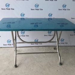 Bàn xếp inox 1400×800 mm chính hãng