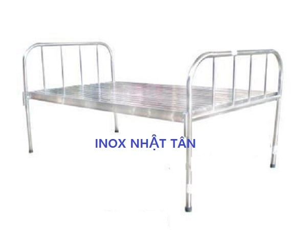 giường y tế inox thường 01
