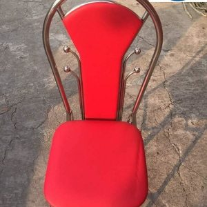 Ghế Tựa Inox Bi Đỏ