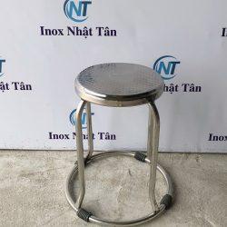 Ghế inox chân tròn giá rẻ
