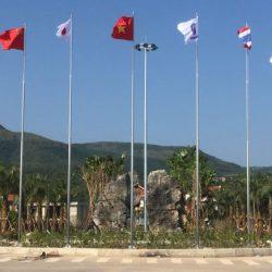 Cột Cờ Inox Cao 10m – Inox 304 Chính Hãng