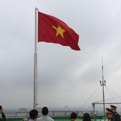 Cột cờ inox cao 8 m. Inox 304 – Loại thường
