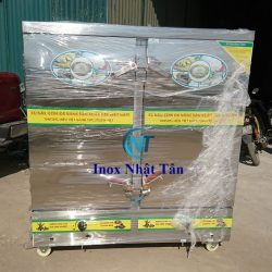 Tủ Cơm Inox 24 Khay Gas